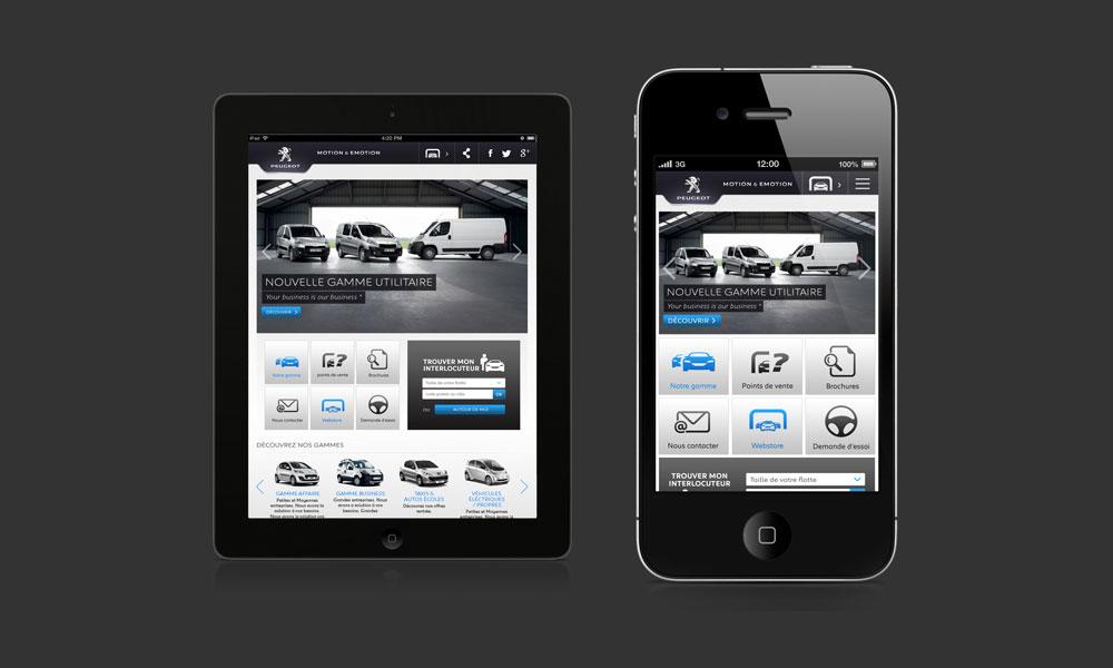 Peugeot site pro