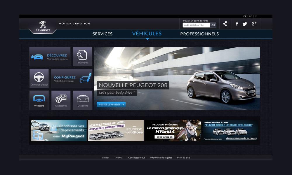Peugeot Hub